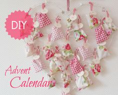 Duni's Studio: Make an Advent Calendar - Adventskalender DIY