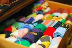 I want my sock drawer to look like this.