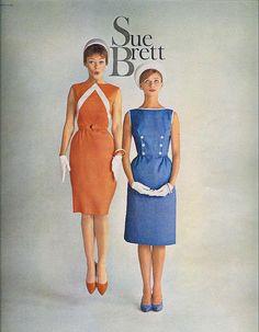 Sue Brett from Seventeen, March 1961 via sugarpie honeybunch at Flickr