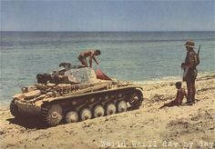 Panzer ll of the Afrika Corps