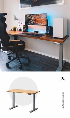 With a better height range, the SmartDesk Premium is perfect for both home and office uses. The powerful motorized foundation lifts you up quietly in seconds. Experience a stable, sturdy standing desk built for max focus & productivity. Study Office, Home Office, Girls Bedroom, Bedroom Decor, Bedrooms, Kids Homework Station, Smart Desk, Stand Up Desk, Study Space