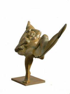 Margriet Barends    'Indiën summer'  brons,  2004    hoogte:  40 cm  oplage:  8 stuks
