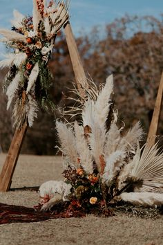 This bohemian outdoor wedding day in Fort Worth, Texas was absolutely STUNNING! Bohemian Chic Weddings, Bohemian Wedding Decorations, Boho Wedding Flowers, Decor Wedding, Bohemian Bride, Beige Wedding, Lace Wedding, Wedding Day, Orange Wedding