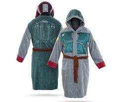 Star Wars Bathrobes http://coolpile.com/home-stuff-magazine/star-wars-bathrobes/ via @CoolPile $69