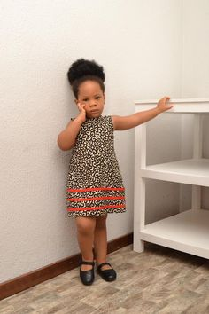 Ankara Kiddie Dress/ African Inspired/ Girl's Dress/ Quality fabric/ Good Finishing/ Made In Nigeria/ African Kid Baby African Clothes, African Dresses For Kids, African Children, Latest African Fashion Dresses, African Print Dresses, Dresses Kids Girl, African Print Fashion, Kids Outfits, Ankara Styles For Kids