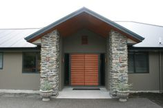 A great looking project in Mt Shale columns.