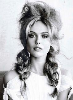 Swedish model Frida Gustavsson | photo by Patrick Demarchelier for Allure Magazine, March  2014