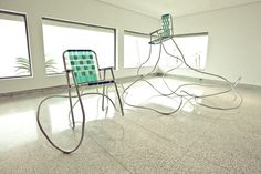 """""""Lawn chairs"""" by Andy Ralph #Eames #2010"""