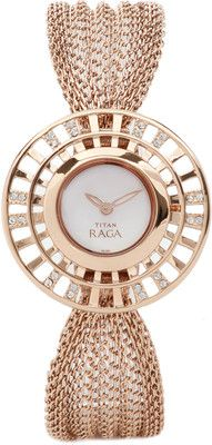 Buy Titan Raga Analog Watch - For Women: Watch Dream Watches, Luxury Watches, Hand Watch, Stylish Watches, Glitz And Glam, Beautiful Watches, Bracelet Watch, Jewelry Watches, Woman Watches