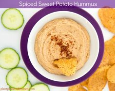 Spiced Sweet Potato Hummus by Dreena Burton, Plant-Powered Kitchen