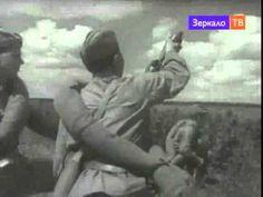 """""""В Боях под Мценском, Орловская область"""" 1943 г. Боеая кинохроника, Вели..."""