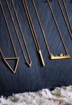 Laser cut necklace ideas