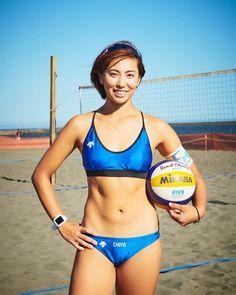 Female Volleyball Players, Women Volleyball, Beach Volleyball, Beautiful Girl Image, Beautiful Asian Women, Sporty Swimwear, Cute Skirt Outfits, Beautiful Athletes, Female Gymnast