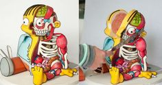 This Ralph Wiggum Cut Out Cake Is Absolutely Incredible - 23 Pics