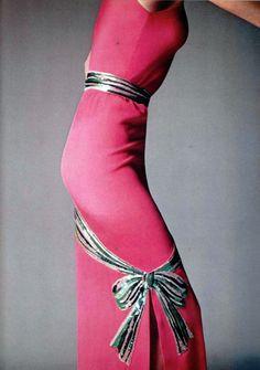 Givenchy. L'Officiel magazine 1979