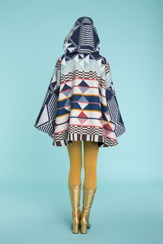 Lindsey Thornburg + Pendleton Southern Highlands Trench Cloak, available in-store & online