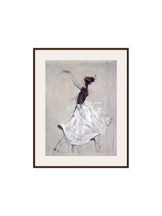 Buy Dark Brown Framed Canvas Marta Wiley - Living The Dream 2 from our Pictures range at John Lewis & Partners. Framed Canvas, Framed Prints, Canvas Prints, Green Vans, Contemporary Frames, Handmade Frames, All Paper, Box Frames, All Pictures