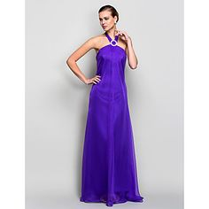 A-line Halter Floor-length Chiffon Evening Dress (759790) – USD $ 99.99  (also available in Jade or Gold)
