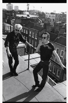 The Clash - Joe Strummer & Jim Jarmusch Music Icon, My Music, Tv Movie, Movies, The Future Is Unwritten, Mode Man, Joe Strummer, New Wave, The Clash