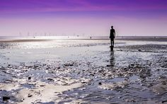 Another Place, Crosby. Liverpool, Photographs, Beach, Water, Places, Outdoor, Gripe Water, Outdoors, Lugares