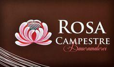Bauernmalerei: Rosa Campestre - Rosa 2