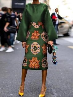 Summer Women Long Sleeve Printed Fashion Midi Plus Size Dress Hot Sale!Summer Women Long Sleeve Printed Fashion Midi Plus Size Dress - Unique Long Hairstyles Ideas Green Fashion, Look Fashion, Unique Fashion, Fall Fashion, Fashion Coat, Cardigan Fashion, Floral Fashion, Fashion 101, Sweater Outfits