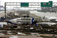 Hurricane Ike- A storm I will never forget! It came just a few days after we came home with our son from the hospital.