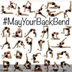 Prepare yourself for #MayYourBackBend! Click on the photo for Back Bend Preparation Poses. ❤