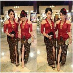 Kebaya Bali, Indonesian Kebaya, Batik Kebaya, Batik Dress, Lace Dress, Kebaya Brokat, Dress Brokat, Kebaya Dress, Kebaya Moden