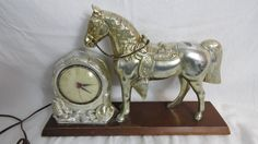 Vintage 1950's TV or Mantel Western Style Horse by fromanotherday
