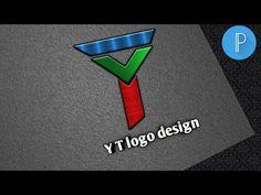 Y T logo design } how to logo design } logo } yt studio - YouTube Logo Design Tutorial, Design Tutorials, Photoshop Design, Photoshop Tutorial, Lab Logo, Professional Logo Design, Illustrator Tutorials, Logo Sticker, Logo Maker