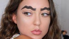 Die verrücktesten Augenbrauen-Trends 2018 | Vitalmag