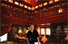 beautiful library at skywalker ranch