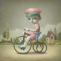 Little Boy Blue by Mark RydenYou can find Mark ryden and more on our website.Little Boy Blue by Mark Ryden Mark Ryden, Art Pop, Gravure Illustration, Illustration Art, Arte Lowbrow, Arte Peculiar, Bee Photo, Little Boy Blue, Street Art