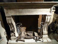 19th Century Travertine Fireplace #renaissancelondon