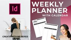 Indesign Tutorial: Create a Weekly Planner With Calendar Planner Layout, Weekly Planner, Design Tutorials, Book Publishing, Digital Prints, Calendar, Create, Inspiration, Fingerprints
