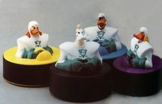 """""""Mighty Ducks"""" Sliding Pucks (1997), my favorite McDonald's toys!!   The 26 Most Awesome Happy Meal Toys Of The '90s"""