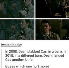 Cas & Dean x'(