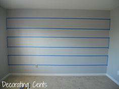 Baby Room Ideas For Boys Newborns Striped Walls 32 Super Ideas Striped Walls Nursery, Striped Accent Walls, Striped Room, Baby Boy Themes, Baby Boy Rooms, Baby Room, Nursery Room, Accent Wall Bedroom, Bedroom Decor