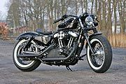 Sportster Forty-Eight Classic Black by Thunderbike