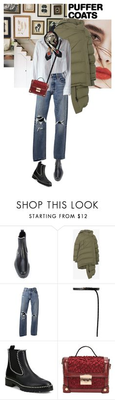 """totally my style."" by hil4ry ❤ liked on Polyvore featuring Lily Jean, Alexander Wang, Balenciaga, Levi's, Vetements and Hermès"