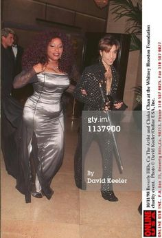 Chaka Khan and Prince at Whitney Houston Foundation charity event. Prince Images, Photos Of Prince, The Artist Prince, Chaka Khan, Prince Purple Rain, Roger Nelson, Prince Rogers Nelson, Purple Reign, American Singers
