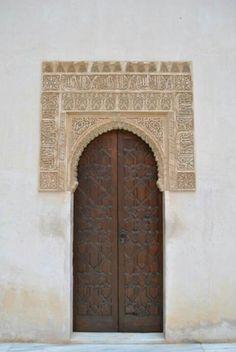Puertas en La Alhambra