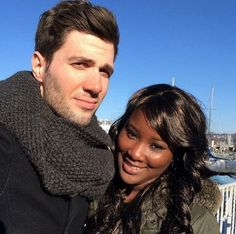 Beautiful interracial couple #love #wmbw #bwwm #swirl
