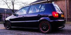 Volkswagen Polo 6n GTI   * 6n2 GTI Engine  - ARC * FK G3 Suspension * BBS RS 772 (original Vw 6n2) * Ferodo DS 2500 Brake pads * ATE Slotted discs  * Sabelt XL Racing seat / 4point belt  Build thread: http://vwpolo.nl/forum/viewtopic.php?f=26&t=5051