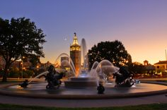 City of Fountains by Mark W