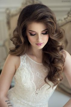 63 stunning examples of brown ombre hair - Hairstyles Trends Curled Hairstyles For Medium Hair, Curls For Long Hair, Curls Hair, Thin Hair, Brown Ombre Hair, Ombre Hair Color, Medium Hair Styles, Curly Hair Styles, Wedding Hairstyles