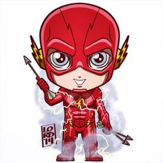 "The Flash!!! ""Game on."" ✏️✏️✏️✏️ #lord_mesa #lordmesaart #digitaldoodle #sketch #artwork #illustrator #illustration #vectorart #mangastudioex #theflash #cw #fun #funny #dc #igers #kids #arrow #greenarrow #barryallen #grantgustin #chibi"