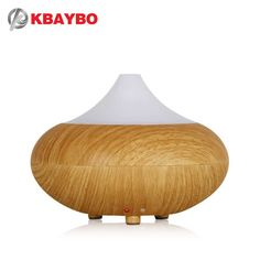 Strict Alloet 150ml Wood Humidifier Projection Mini Air Humidifier Aroma Diffuser Cool Mist Maker Mute Fogger Air Purifier Lamp Light Household Appliances