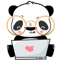Panda Emoji on Behance Panda Emoji, Panda Kawaii, Cute Panda Wallpaper, Wallpaper Iphone Cute, Panda Wallpapers, Cute Wallpapers, Funny Illustration, Illustrations, Doodle Wall